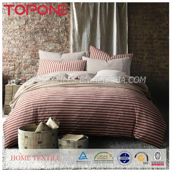 Home Textile Soft Wholesale 100% Cotton Unique Bedding Adults