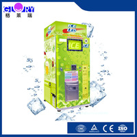 Zhengzhou Glory Factory Prices Professional IC Card/ Coins/ Cash Operated Full Automatic Ice Dispenser For Sale
