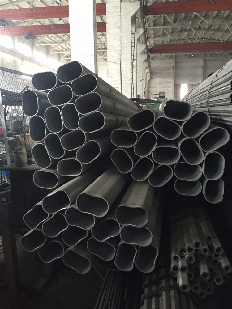 OEM iron oval precision steel pipe and tube