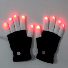 Funny magic hihop dance led gloves lighting up in the dancing party and carnival