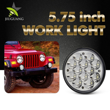 High Intenstity 5.75 Inches 36W Super Bright High Low Beam Epistar Round Led Work Light for Jeep Offroad Trucks