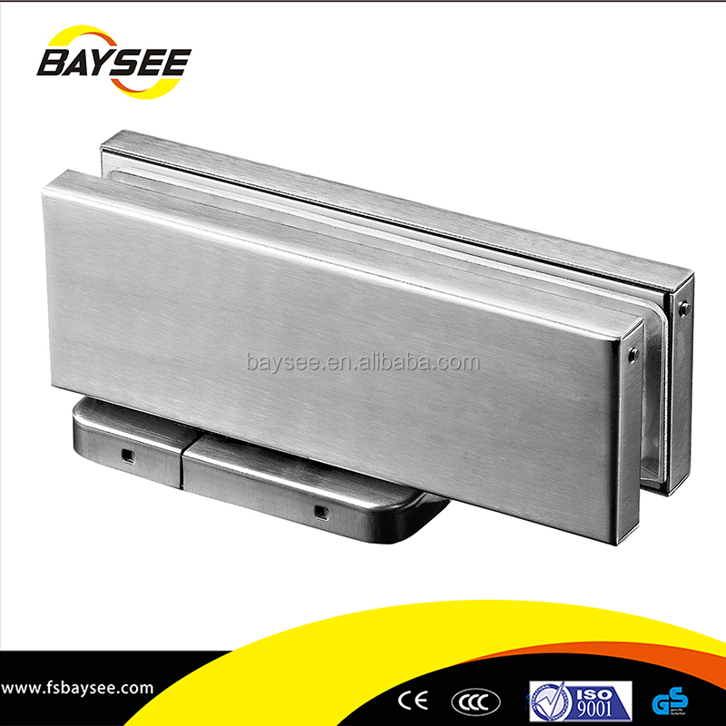 Aluminium Pivot Adjustable Hydraulic Floor Spring Heavy duty hydraulic floor hinge concealed overhead closer