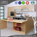 customized model modern style kitchen furniture parts wooden kitchen cabinet