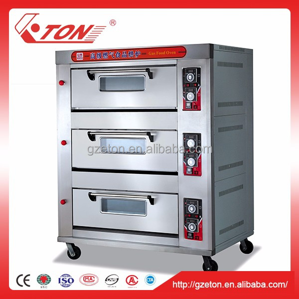 Home Use Gas Bakery Oven for Cooking Pizza