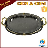 serving trays india wedding decoration tray stainless steel round tray T123