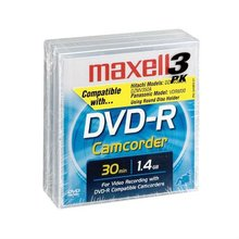 MAXELL DVD-R VIDEO CAMCORDER DISC