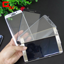 2016 Newest Premium Ultra Thin Film Screen Protector for Samsung S7 edge 3D Curvy Full Coverage Glass Film