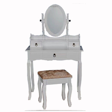 Yasen Houseware Wooden Dressing Table With Stool And Mirrors,Exported Dressing Table Designs For Bedroom,Price Dresser