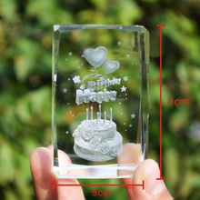 cheap 3d laser engraving glass block raw crystal glass block