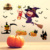 2018 New Design Fashion Cartoon Home Decorative Halloween Witch Wall Sticker,halloween festival removable wallpaper