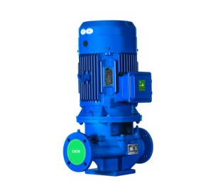 ISG Vertical electric centrifugal pipeline centrifugal water pump