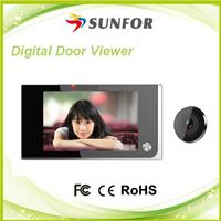 Original design best price infrared digital door peephole viewer , wireless door viewer camera