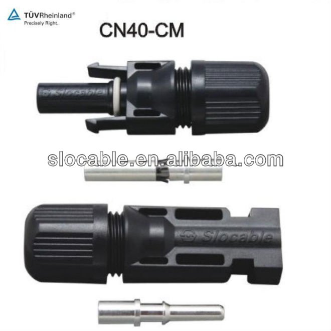 IP67 solar power connector mc4 for photovoltaic system