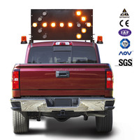 OEM LED Sign Arrow 15 Lamps Car Mounted Traffic Boards Safety Truck Vehicle Mounted Arrow board Signs