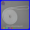 double braided nylon cord, used as mooring dock line