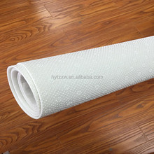 Pure White Needle Punched Nonwoven Felt Polyester Mat w/o PVC dots