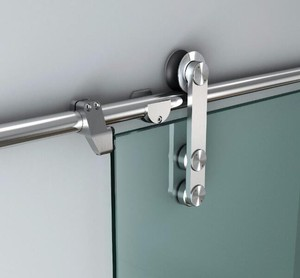 frameless glass door hardware sliding door roller