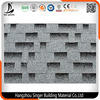 Fiberglass Asphalt Roofing Shingles Colour Gazed Red Asphalt Roof Shingles Made in China