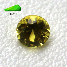 Top quality natural gems rough yellow sapphire