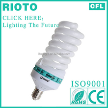 100% tri-phosphor powder full spiral cfl 125W energy saving lamp CE ROHS