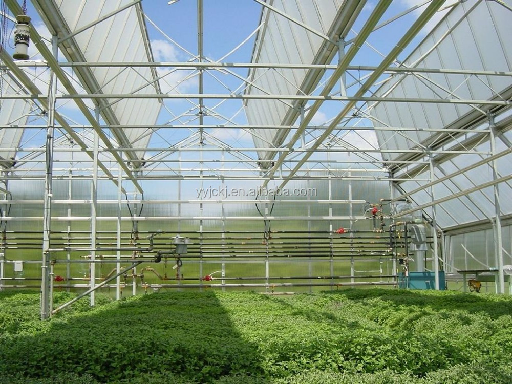 how to fix polycarbonate sheets to a greenhouse