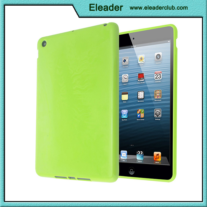 for ipad mini gel tpu soft glossy cover case