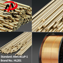 Copper solder welding wire AWS BCup-1, HL201, copper phosphorus brazing wires Rods BCu94P