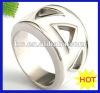 Distribute die casting Polishing shining emerald costume fashion ring (STR-0547)