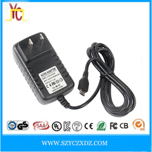 AC/DC US wall-plug micro DC plug 5V 1A 2A 3A power adapter supply use for best hidden cameras for cars