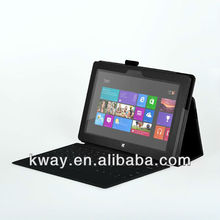 "Magnetic Folio Stand PU Leather Case Cover for Microsoft Surface RT 10.6"" Tablet Windows 8"