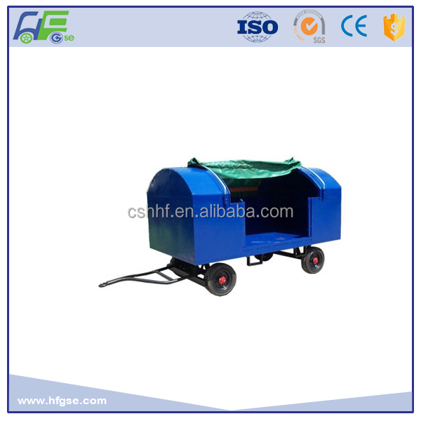 2T Steel Canopy Baggage Cart For