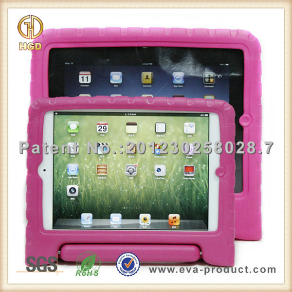 Kids Shock Proof EVA rubberized laptop hard case for ipad mini