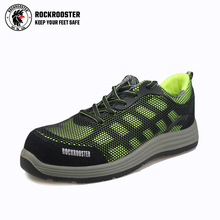 Fashionable safety shoes composite toecap soft sole safety shoes light weight sport shoes