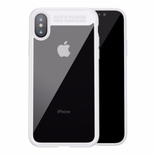 Baseus Comfortable Ultrathin Series Transparent Soft TPU Black Cover Case for iPhone X