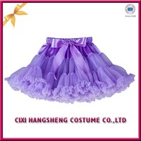 Girls pettiskirts fluffy school girl short tutu skirt