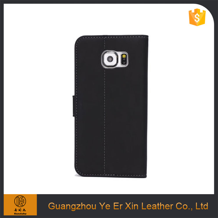 Factory direct wholesale genuine leather mobile phone case for samsung s5 s6 s7