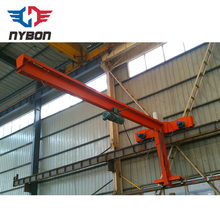 Manufacturer Price BEST SELLERS high quality rotating used mini jib Crane for sale with electric wie rope hoist lifting