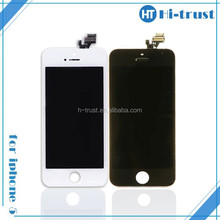 DHL Free shipping Lowest price and TFT Recycle Broken lcd screen for iphone 5