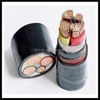low voltage 3+2 cores copper conductor 95 mm2 XLPE power cable