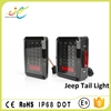 Europe/America style led tail light led turn signal brake light IP68 approved