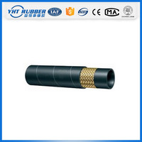 Factory price transparent fuel rubber hose pipe for oil