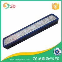 High Quality Low Power Consumption 231w led grow light With Metal Cooling and Hanging Kit