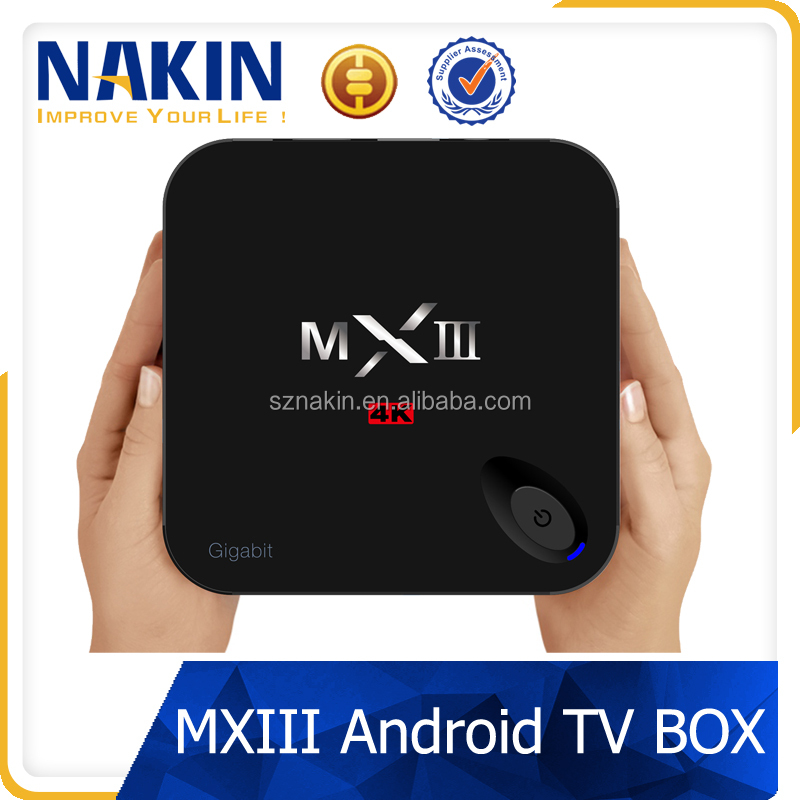 2GB 8GB 4K ultra output Android TV Box MXIII-G
