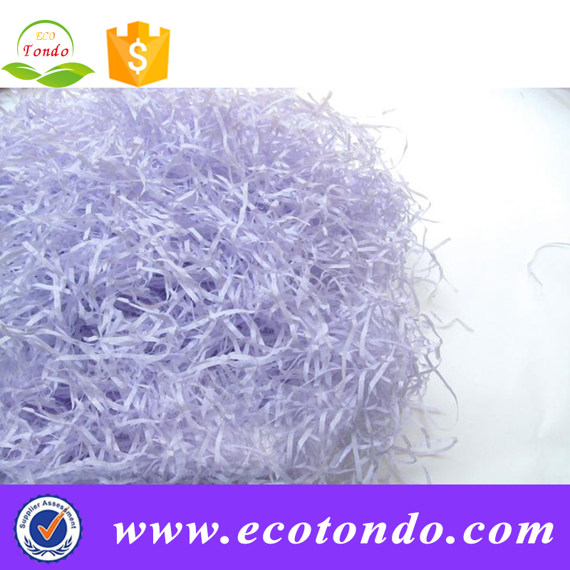 """buy shredded paper When you shred paper, it is much more difficult to get recycling centers   shredded paper makes a great """"brown"""" material for the compost bin."""