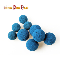 Power plant pipeline cleaning sponge small size 35mm rubber ball