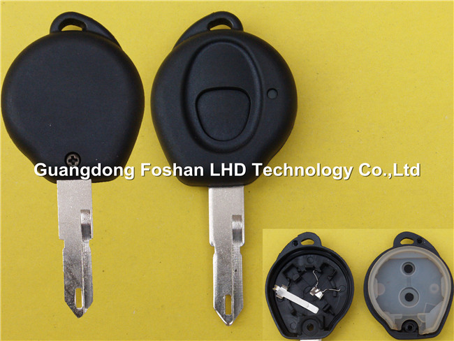 Promotional auto key 206 1 buttons remote key shell universal car key