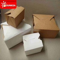 Take out food packaging containers for Chinese restaurant