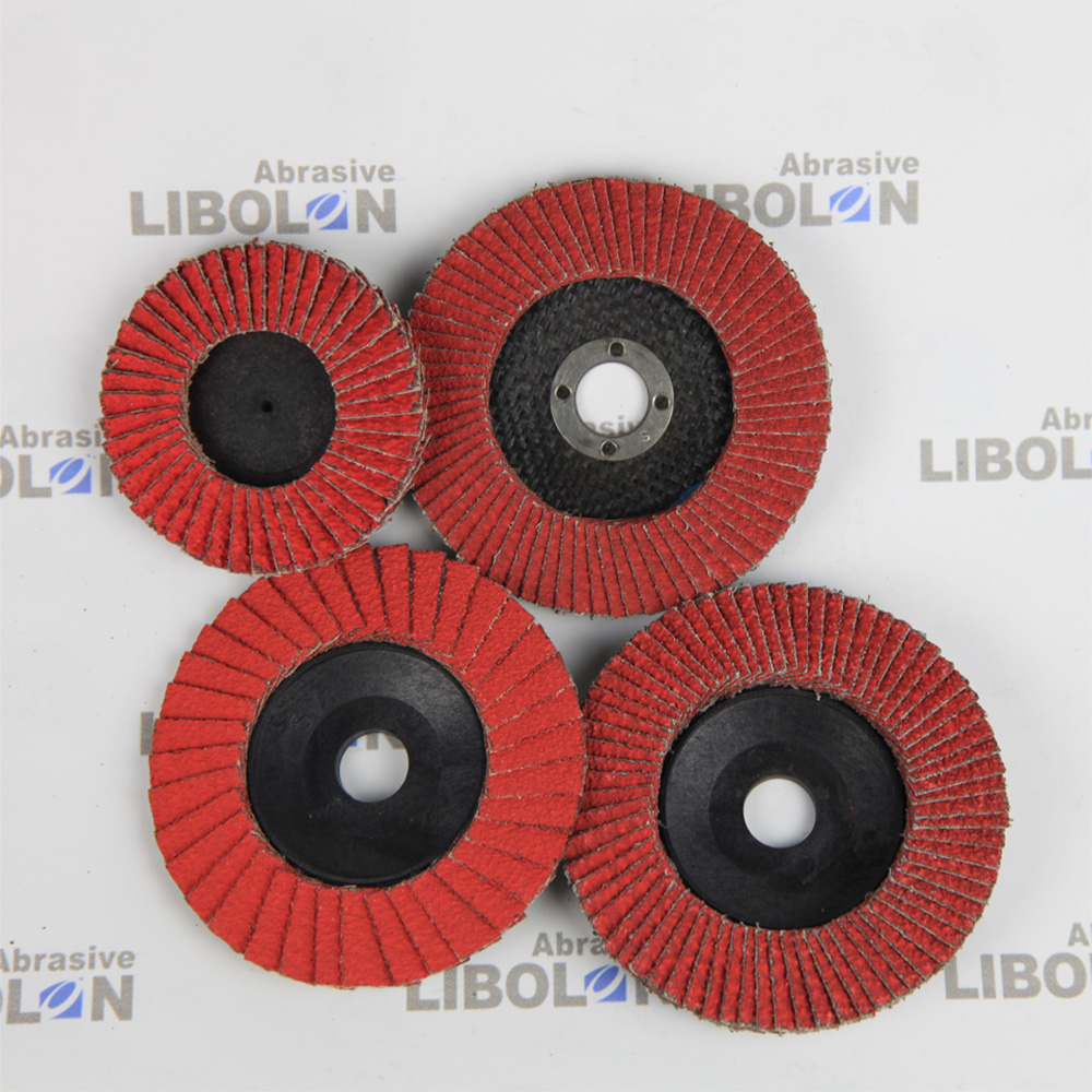 Grit 120 Flat Polishing Flap Disc For Sanding And Polishing