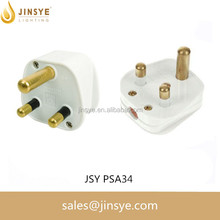 3 pin 16a industrial male and female power plug 220V 3 pin plug For South Africa