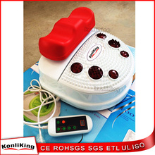 Chi swing machine with pin-point foot massager function and infrared heating for improving foot blood circulations and body slim